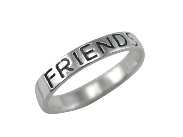 """FRIENDS FOREVER"" Band Ring"