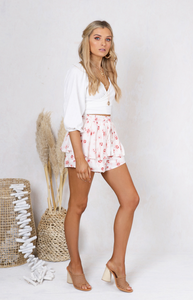 Tamara Shorts - White,  Australian Ethical Clothing Label Rare Muse