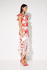 Roses Are Red Dress, dress Australian Ethical Clothing Label Rare Muse