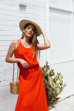 Cabana Maxi Dress - Tangelo, dress Australian Ethical Clothing Label Rare Muse