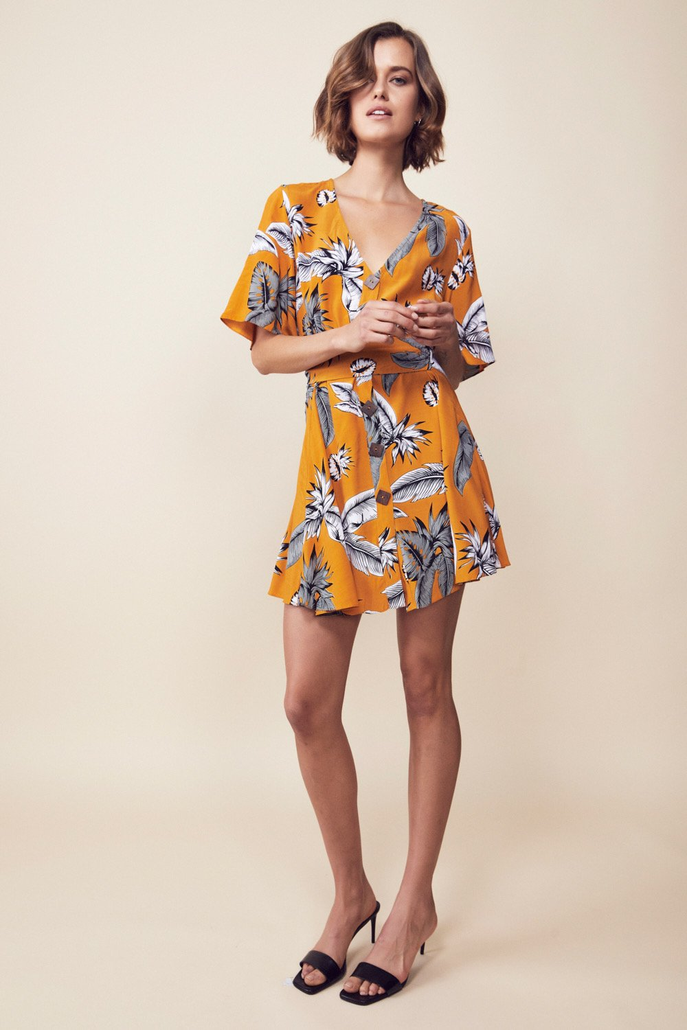 Yonder Dress, top Australian Ethical Clothing Label Rare Muse