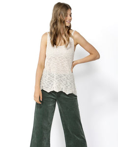 Sunseeker Knitted Cami, top Australian Ethical Clothing Label Rare Muse