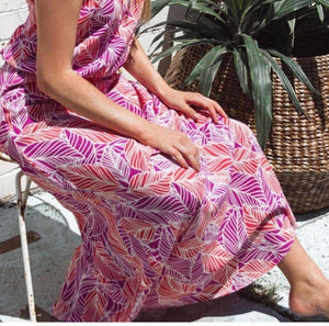 Dreamcatcher Maxi Skirt- Botanical, skirts Australian Ethical Clothing Label Rare Muse
