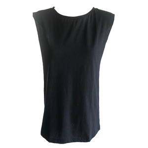 Orlando Tank - Black, top Australian Ethical Clothing Label Rare Muse