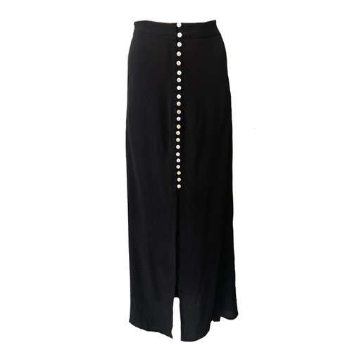 Dreamcatcher Maxi Skirt- Black, skirts Australian Ethical Clothing Label Rare Muse