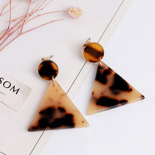 Resin Earring, earring Australian Ethical Clothing Label Rare Muse