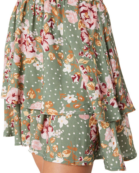 FLORAL SWELL SKIRT