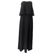 La Maison Maxi Dress - Black, dress Australian Ethical Clothing Label Rare Muse