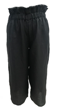 Wanderer Pant- Black, pant Australian Ethical Clothing Label Rare Muse