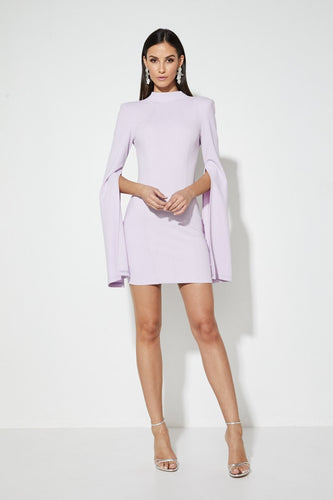 Sense Of Mystery Dress - Lilac, dress Australian Ethical Clothing Label Rare Muse