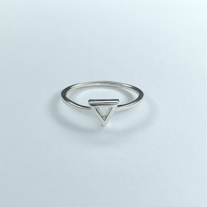 Open Tri Ring, Ring Australian Ethical Clothing Label Rare Muse