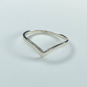 Petite Chevron Ring, Ring Australian Ethical Clothing Label Rare Muse