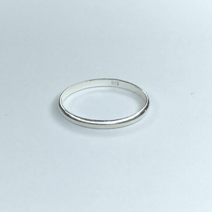 SS Single Band Ring, Ring Australian Ethical Clothing Label Rare Muse