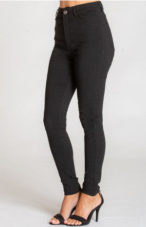 Stretch Skinny Jeans - Black