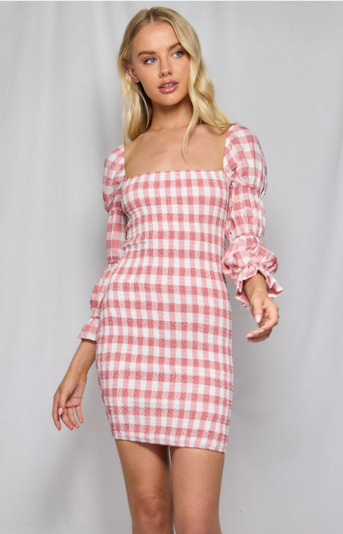 Gingham Party Frock
