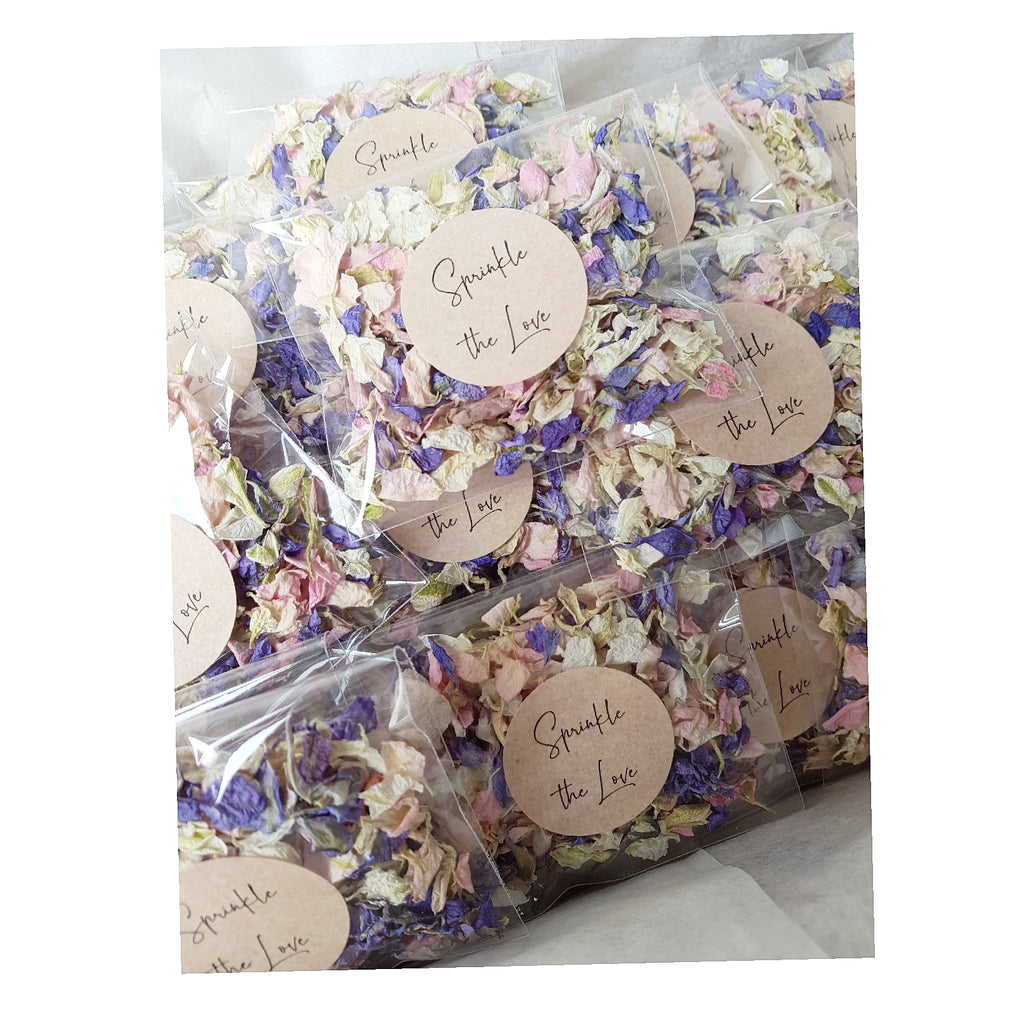 Wedding Confetti Pack with Sprinkle the love romantic sticker