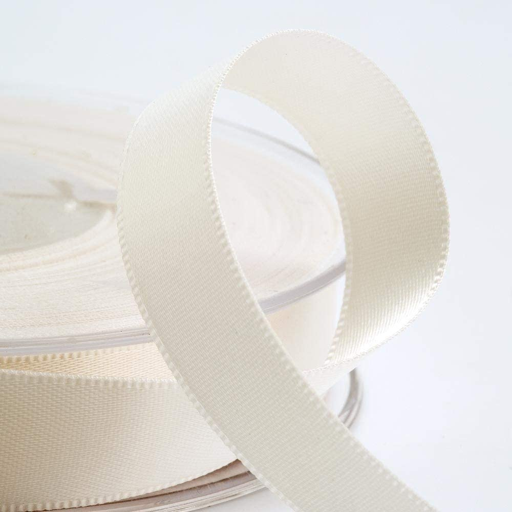 Ivory Satin Ribbon