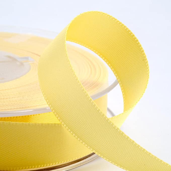 Lemon Satin Ribbon