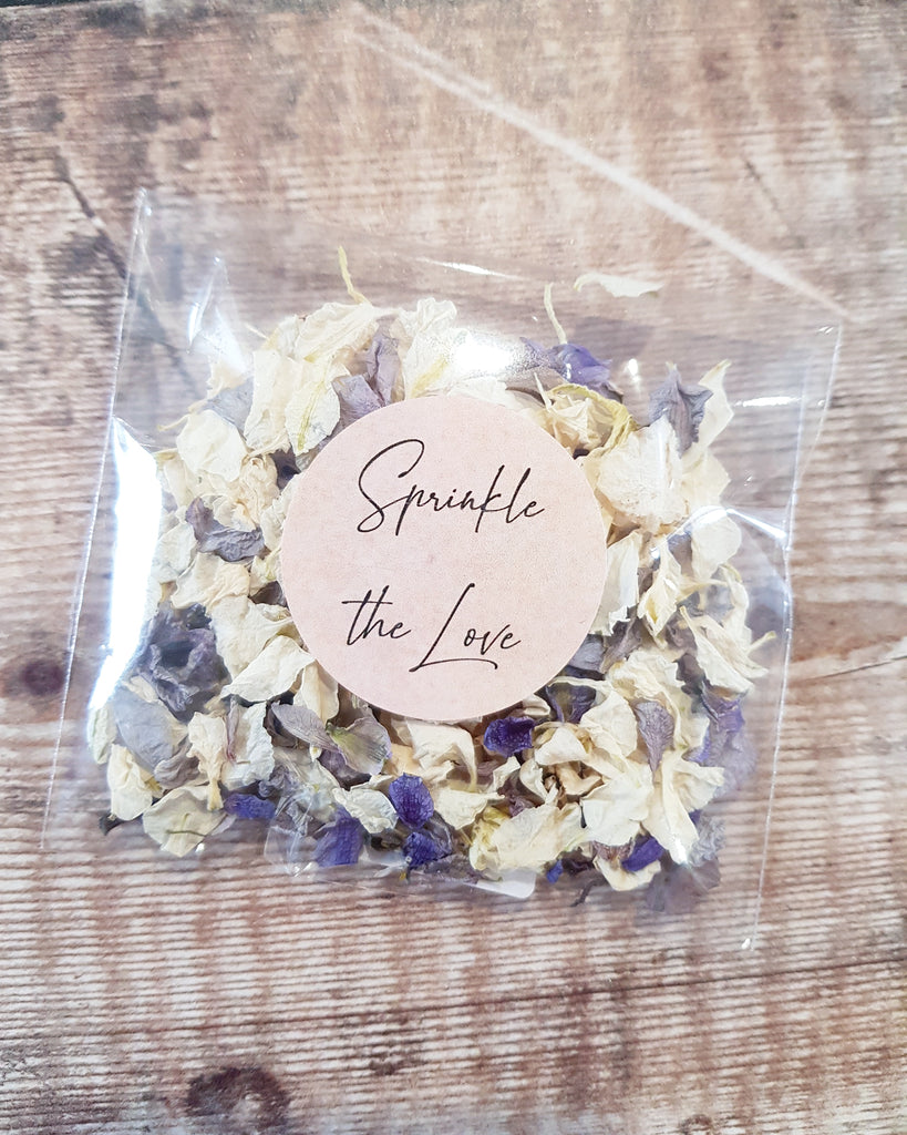 Wedding Confetti Pack with Sprinkle the love sticker