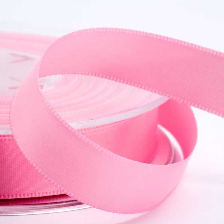 Pale Pink Satin Ribbon