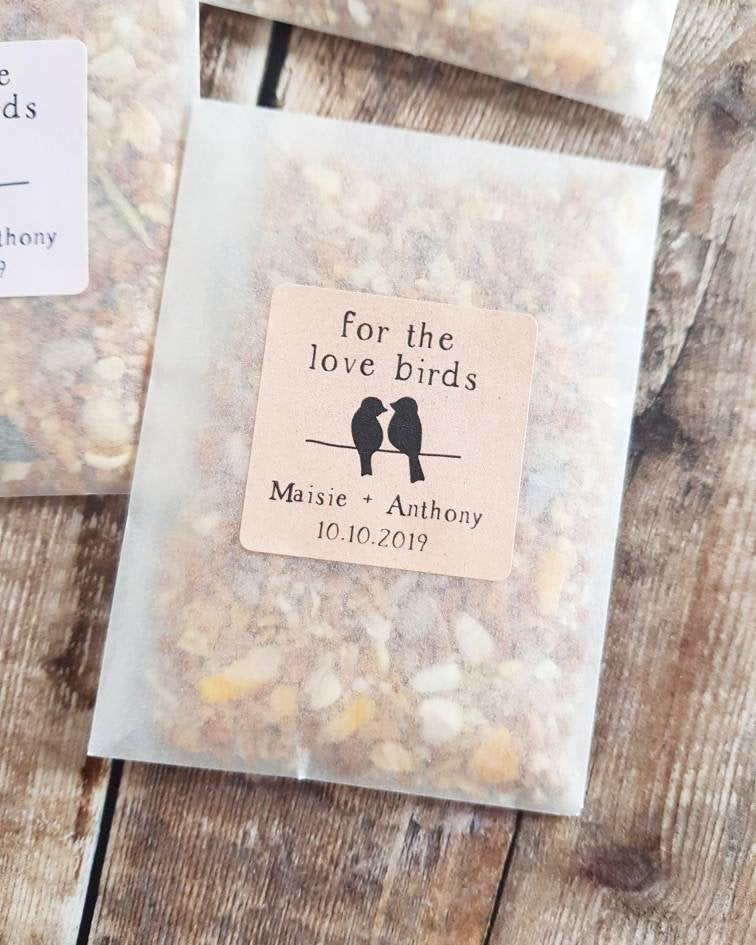 For the Love birds - Wedding favour