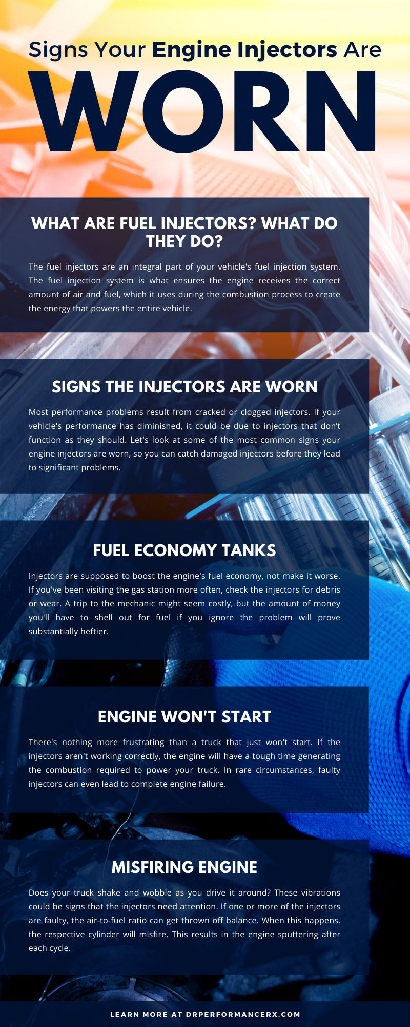 Signs Your Engine Injectors Are Worn