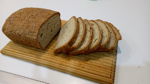 Gluten Free Millet and Flax Loaf- Trial