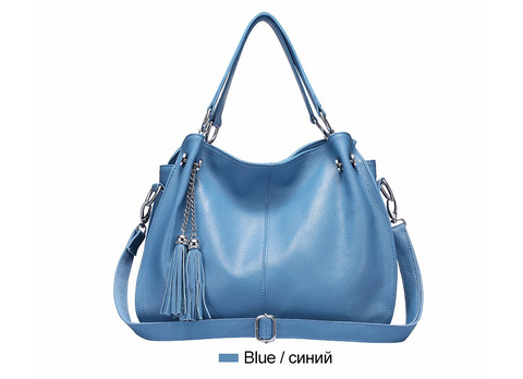 Female shoulder cross body  fashion tassel bag - SichMart
