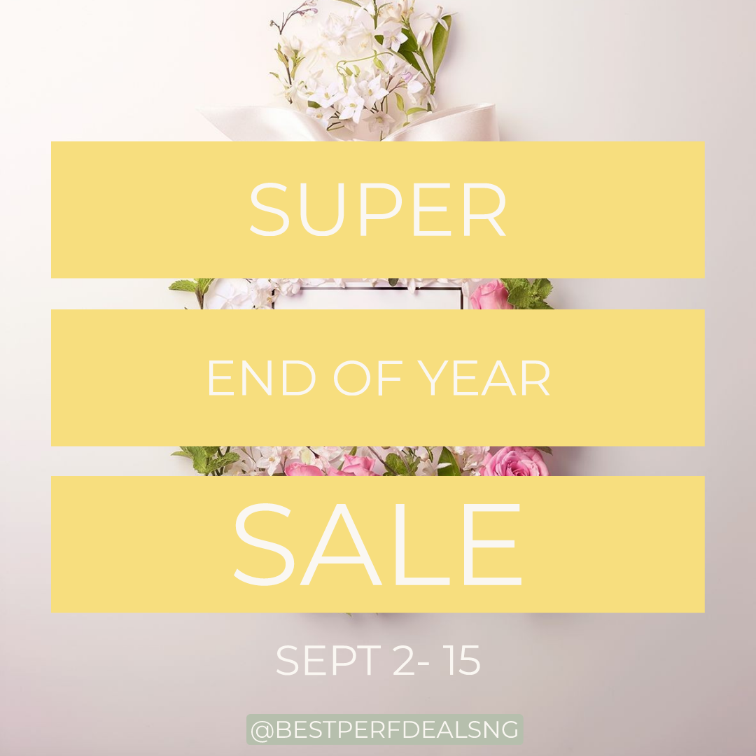 SUPER END OF YEAR SALE