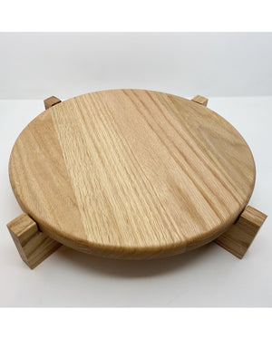 Prop Options Hand crafted solid oak cheese board