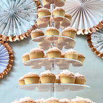 Prop Options 6 TIER acrylic cupcake stand