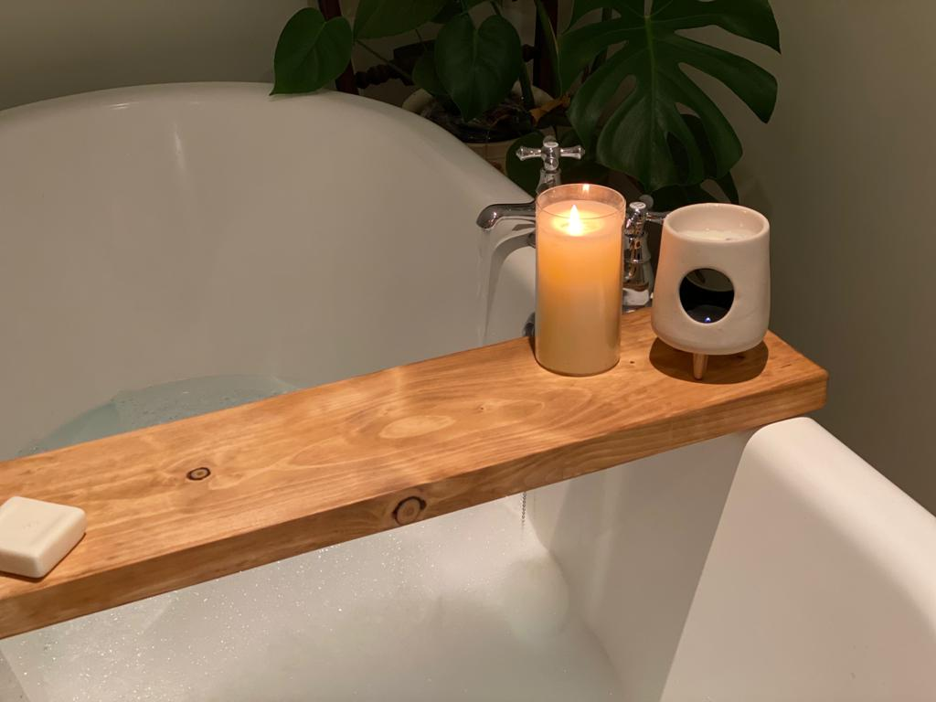 Prop Options hand crafted reclaimed bath board light