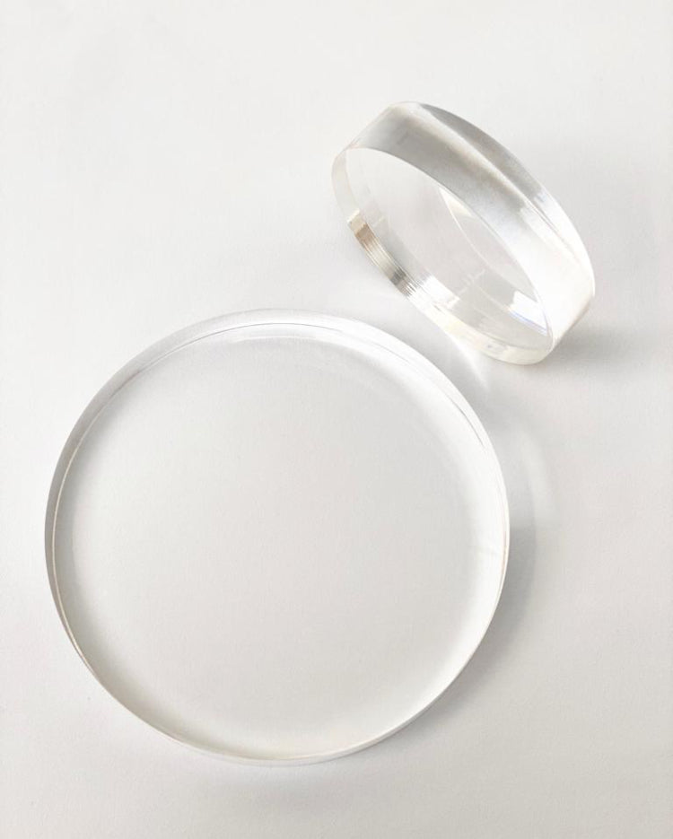 Prop Options 30mm ultra polished acrylic spacers and separators