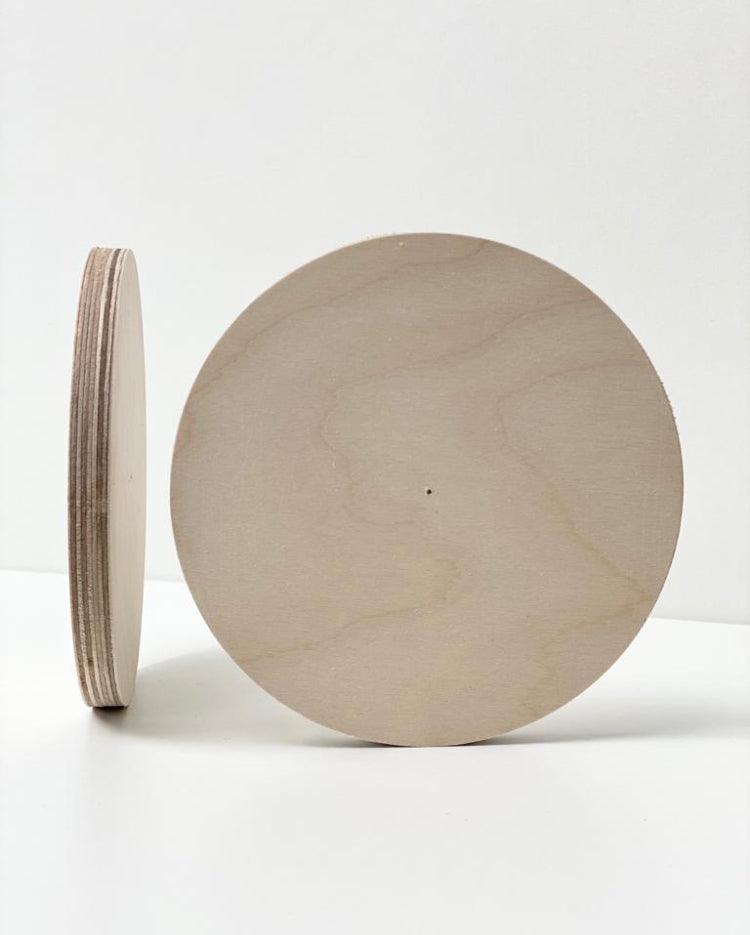 Prop Options Scandinavian birch ply discs cake boards