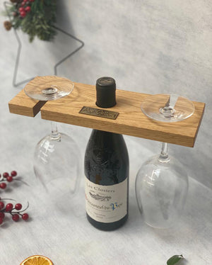 Gift for couples - Prop Options English oak wine butler