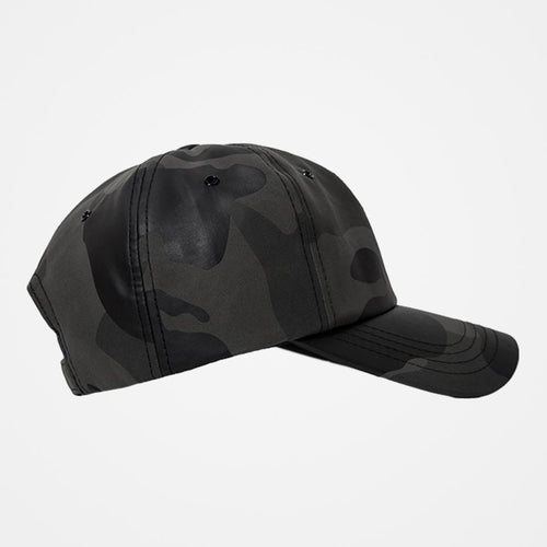 Leather Camo Cap