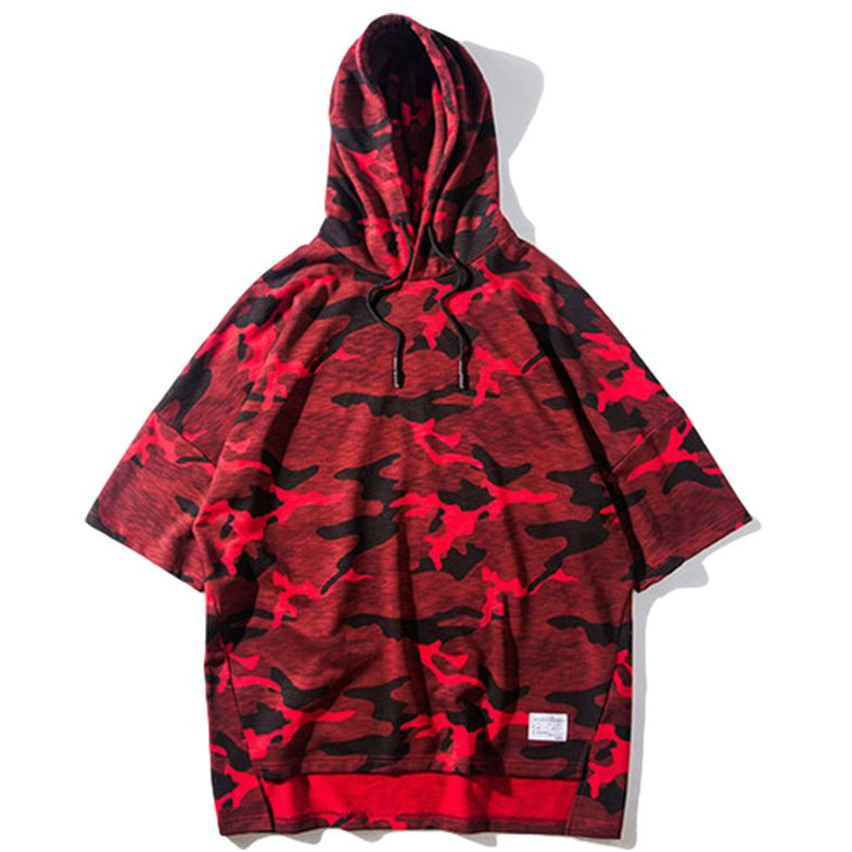 Urban Camo Hooded Tee