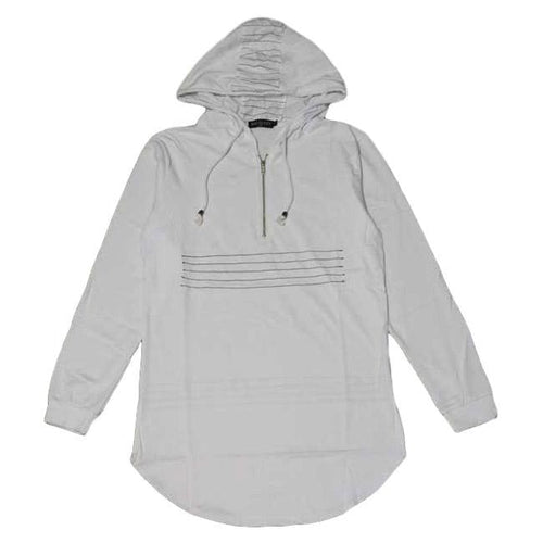 Frayed Hooded Tee