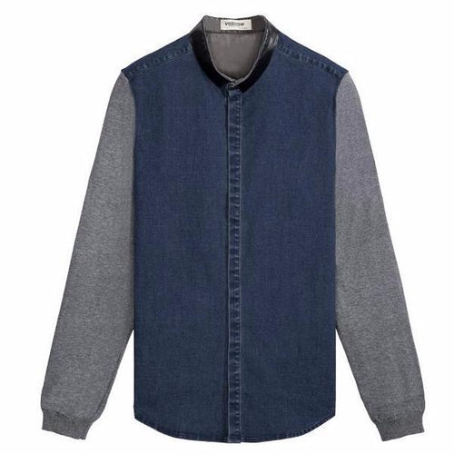 Denim Coat Long Sleeve