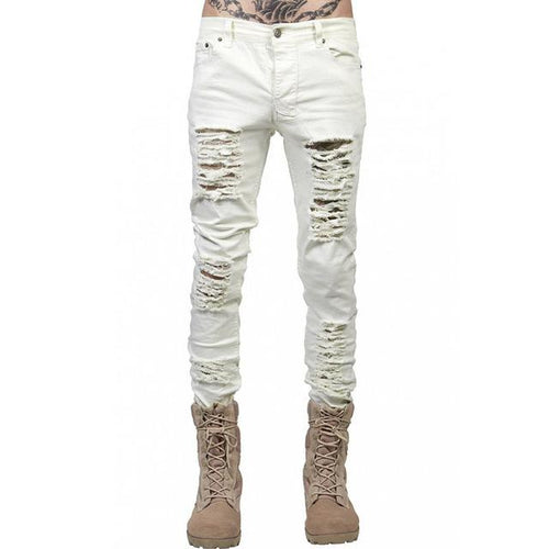 Scarred Skinny Jeans