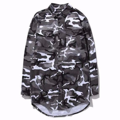 Urban Camo Long Sleeve
