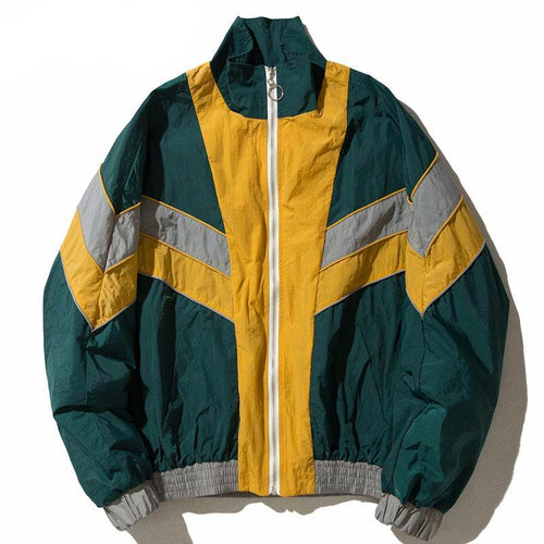 Vintage Multicolor Windbreaker