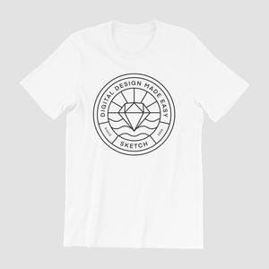 Sketch Tee in White (Pre-order)