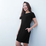 Make the Shift Dress in Black