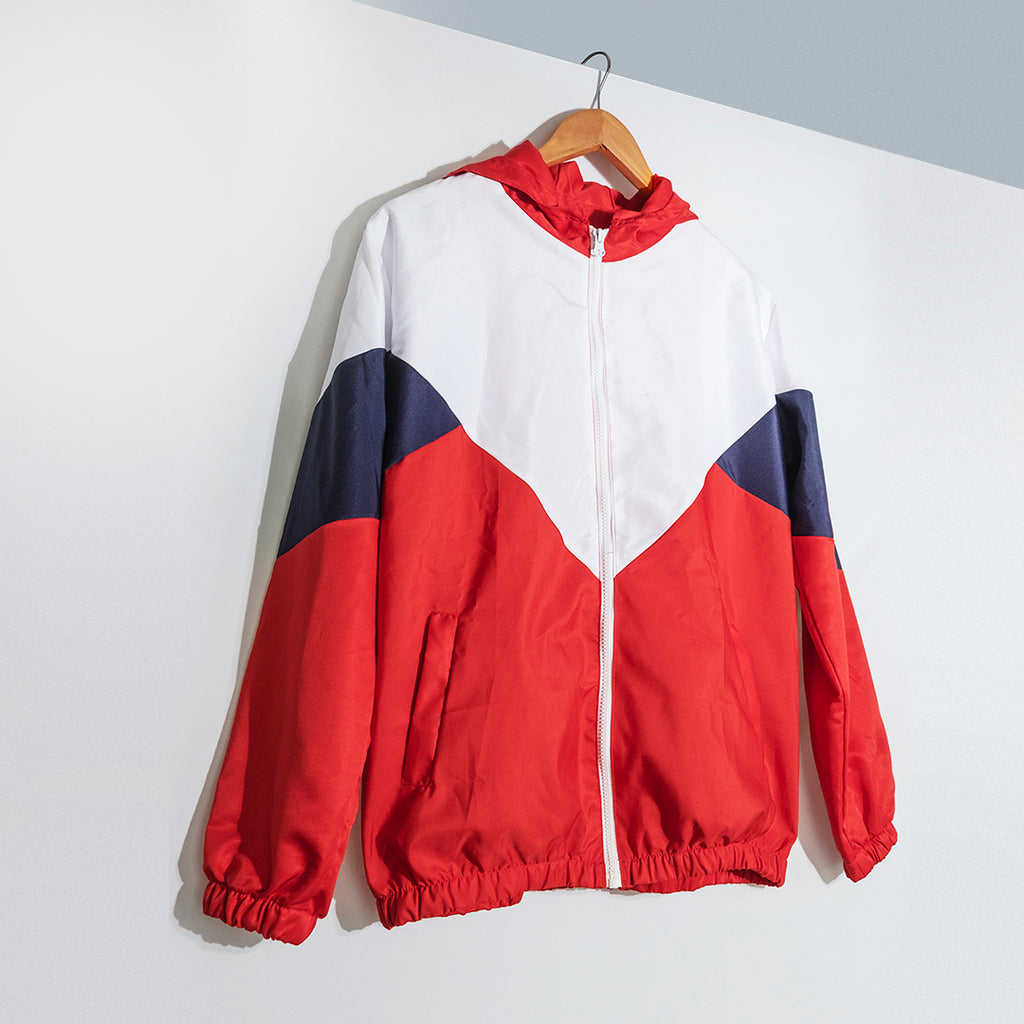Zero-waste Windbreaker