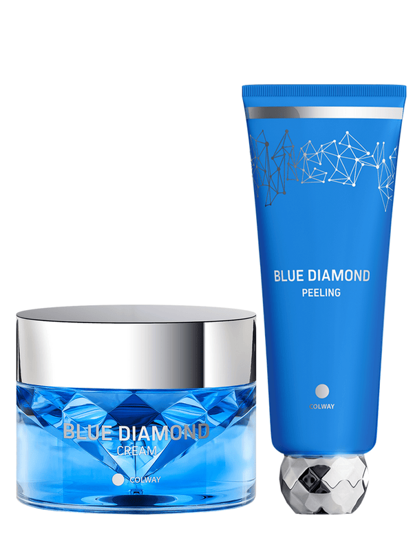 Blue Diamond KOLLAGEN rakakrem og KOLLAGEN kornamaski