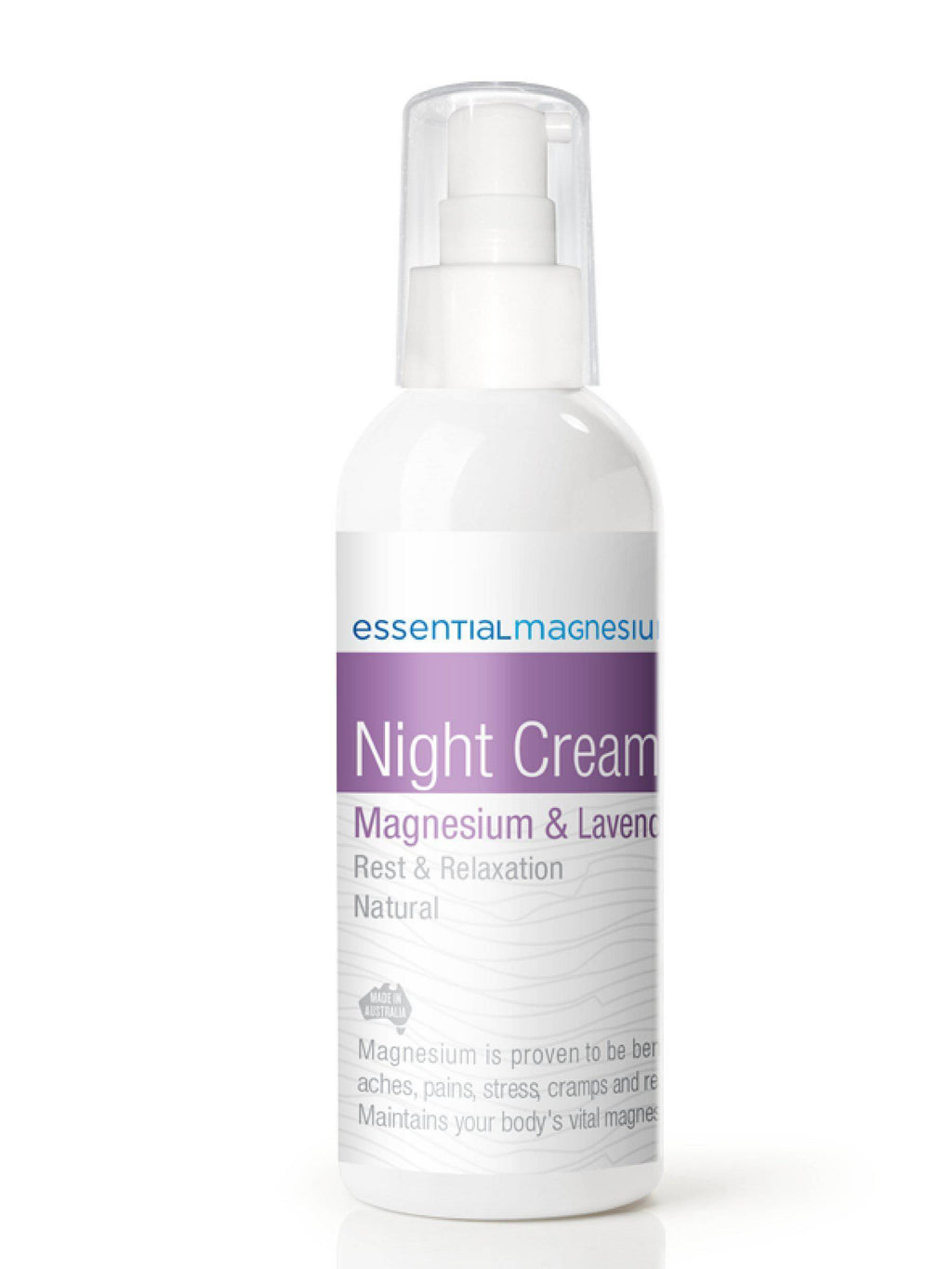 Night magnesíum krem, 125 ml.