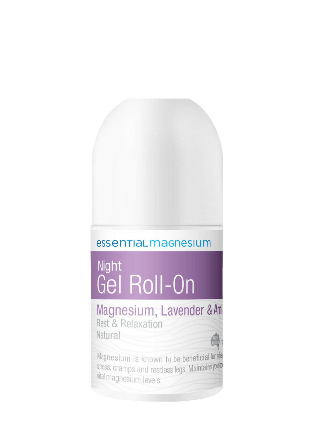 Night Gel Roll On, 75 ml.