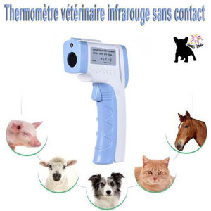Thermomètre infrarouge sans contact pour animaux sante Chimey's Paradise