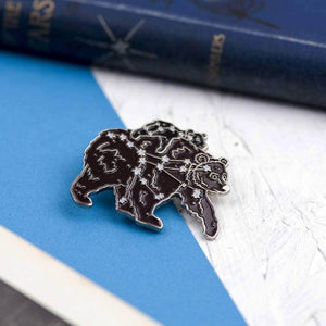 Ursa Major And Minor Star Constellation Enamel Pin - Newton and Apple
